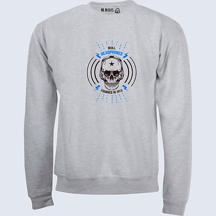 Sweat-Pull Over Tête de mort métal illustration