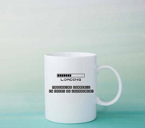 Mug Loading Citation tasse à café