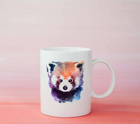 Mug Raton laveur Illustration dessin original
