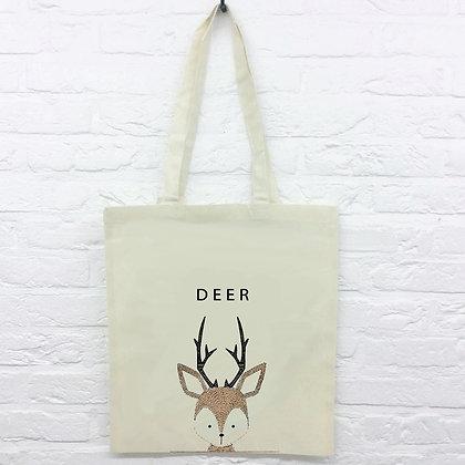 Tote Bag Deer cerf mignon
