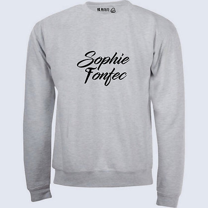 Sweat-Pull Over Sophie fonfec citation