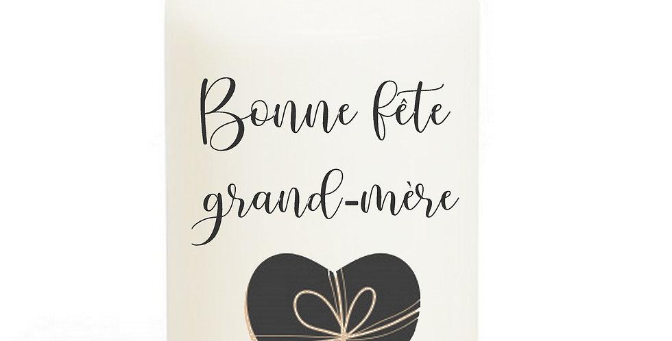 Bougie Imprimée Mamie 301