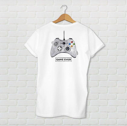 T-shirt unisexe Game over Citation
