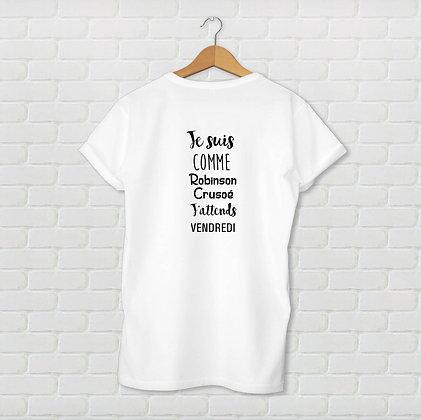 T-shirt unisexe Robinson Citation