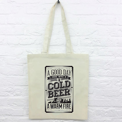 Tote Bag Cold Beer