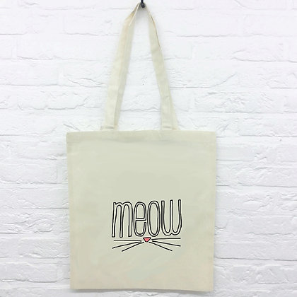 Tote Bag Chat Meow 220