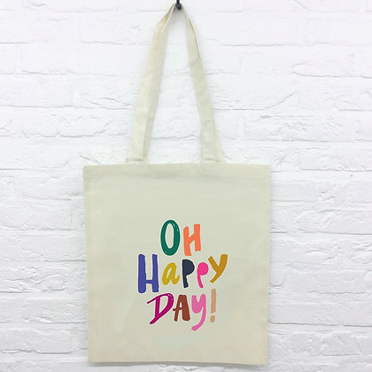 Tote Bag Oh Happy Day!