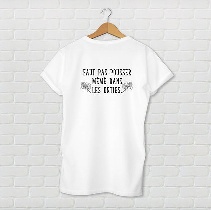 T-shirt unisexe Pousser mémé Citation
