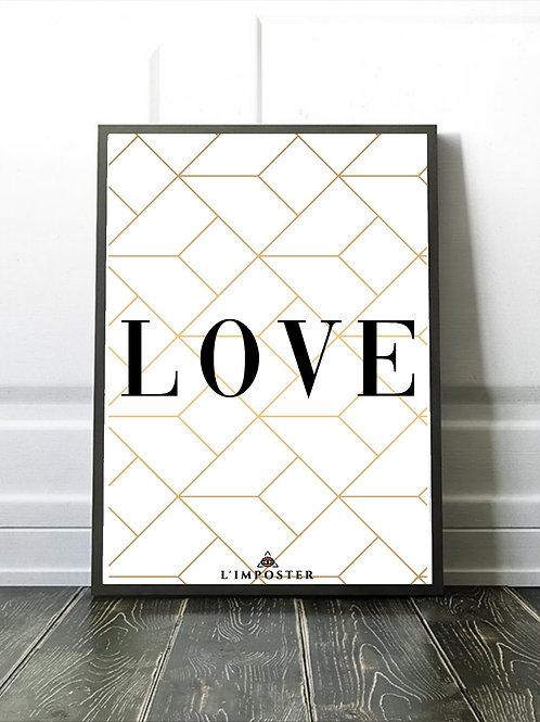 Affiche citation Love