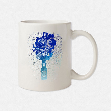 Mug Alice watercolor