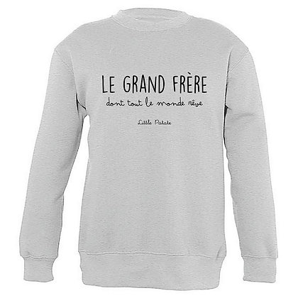 Sweat et Sweat Capuche Enfant Grand frère 180
