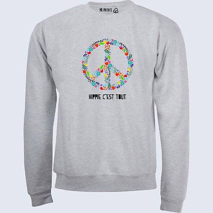Sweat-Pull Over Hippie c'est tout citation