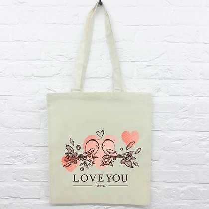 Tote Bag Love You Forever