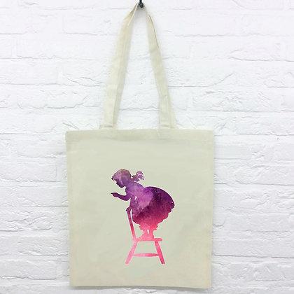 Tote Bag Fillette Watercolor