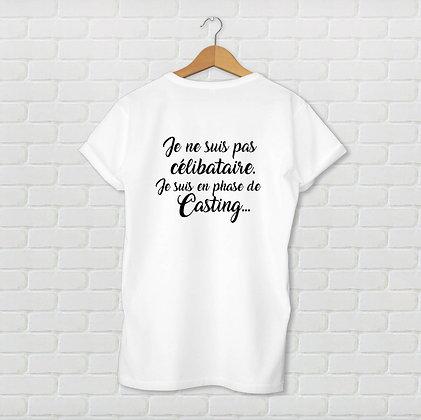 T-shirt unisexe En phase de casting Citation