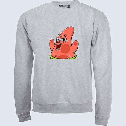 Sweat-Pull Over Patrick funny illustration
