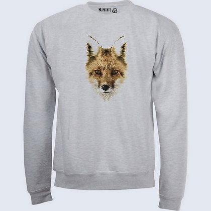 Sweat-Pull Over Renard illustration fox nature