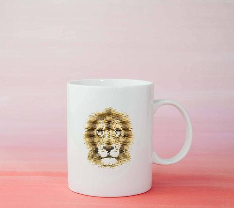 Mug Lion Illustration tasse dessin