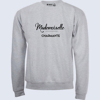 Sweat-Pull Over Mademoiselle charmante citation