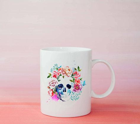 Mug Tête de mort Illustration tasse à café