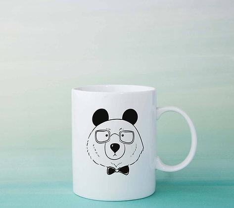 Mug Panda Illustration dessin idée cadeau original