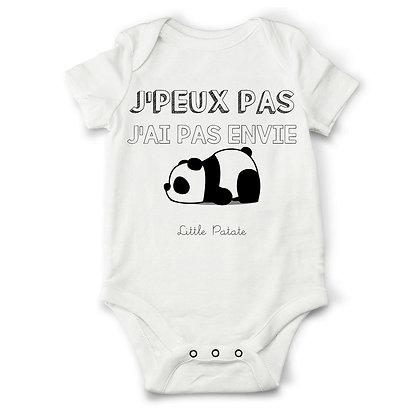 body bébé panda