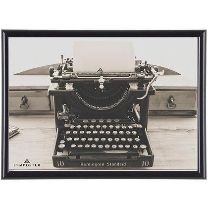 Affiche illustration machine à écrire 306
