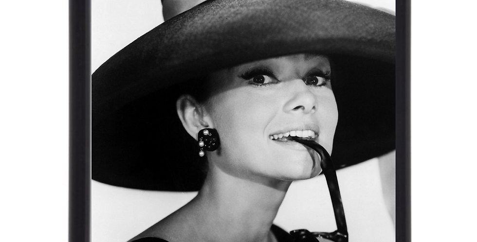 Affiche illustration Audrey Hepburn 302