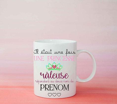 Mug Personnalisé Princesse tasse idée cadeau