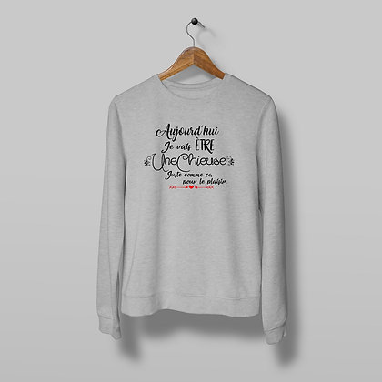 Sweat Pull Over Chieuse Citation 108