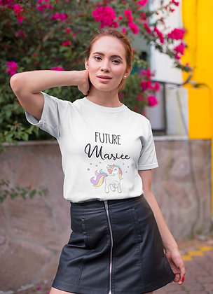 T-shirt EVJF future mariée licorne 42