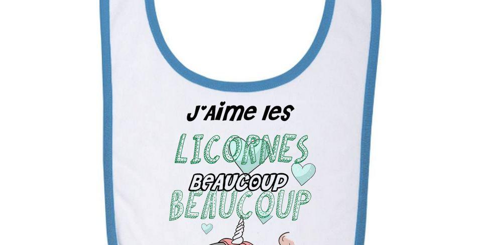 Bavoir Bébé Licorne 04