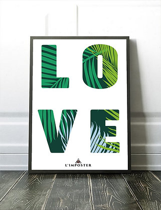 Affiche illustration LOVE 319