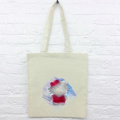 Tote Bag Hello Kitty crayon