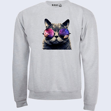 Sweat-Pull Over Chat swag illustration