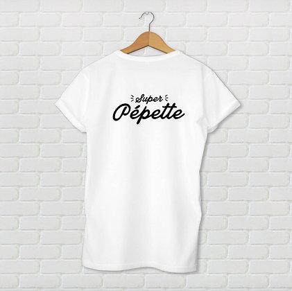 T-shirt unisexe Pépette Citation