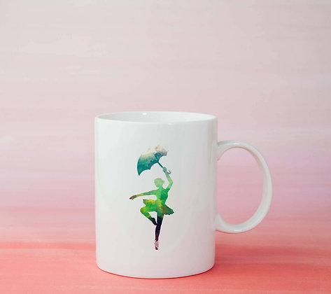 Mug Danseuse Illustration dessin idée cadeau femme