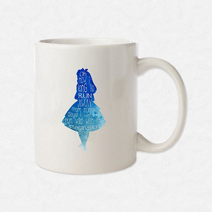 Mug Alice watercolor