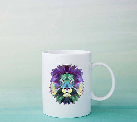 Mug Lion Illustration tasse
