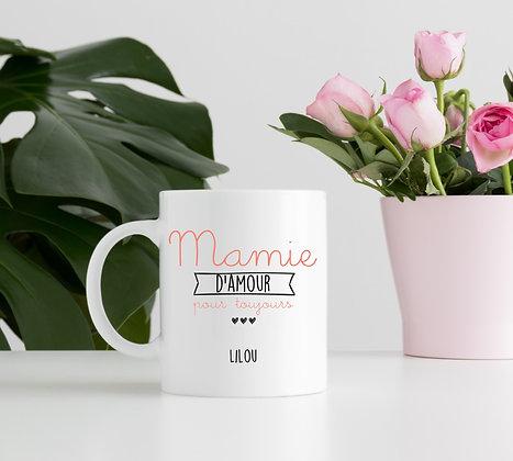 Mug Personnalisable Cadeau Mamie pas cher originale cadeau fête des grands mère