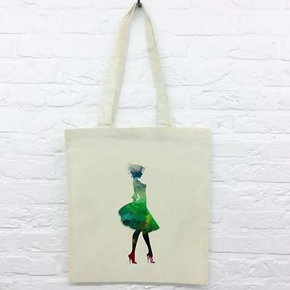 Tote Bag Silhouette femme