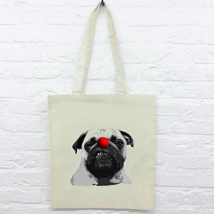 Tote Bag Bouledogue clown
