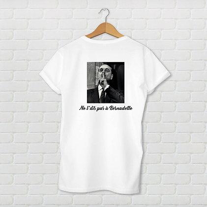 T-shirt unisexe Ne l'dis pas Citation
