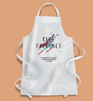 Tablier de cuisine Chef Papounet