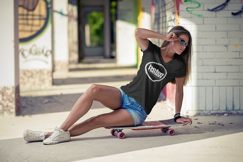 t-shirt-mockup-of-a-cool-young-woman-sit