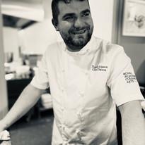 Chef Patron & owner Tom Robinson