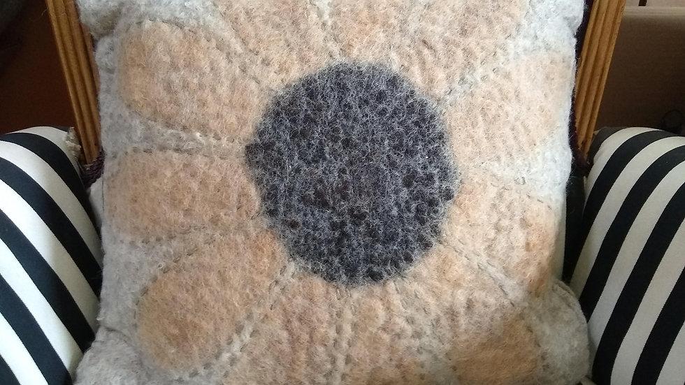 Throw Pillow - Sunflower
