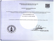 GTIC Group Holdings Co. Ltd._COI in colo