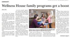 Philanthropy Spotlight: Wellness House
