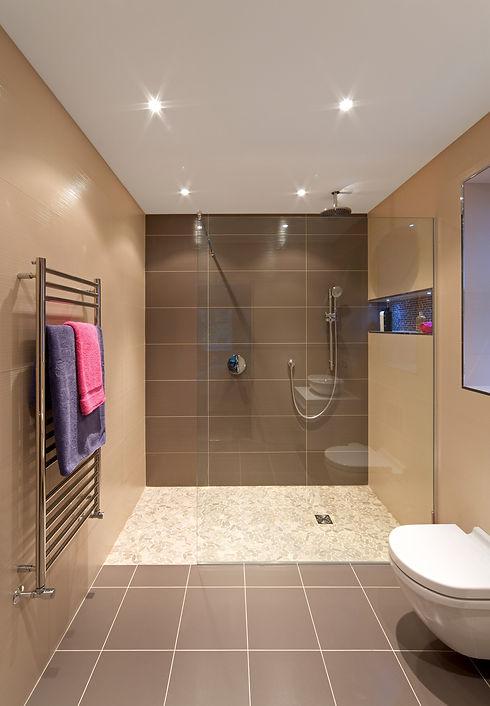 Grey bathroom with spotlights.jpg